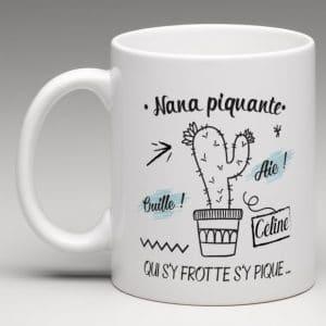 mug personnalisé cactus