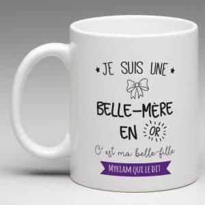 mug-personnalise-belle-mere-en-or