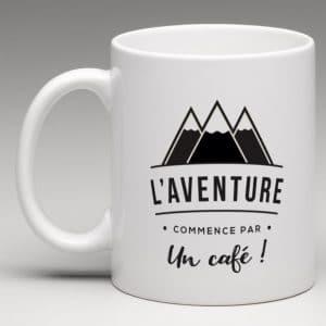 L AVENTURE COMMENCE PAR UN CAFE