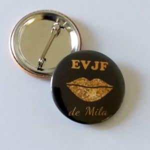 badge-personnalisé-EVJF-noir