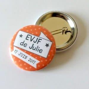 badge-personnalisé-EVJF-rouge