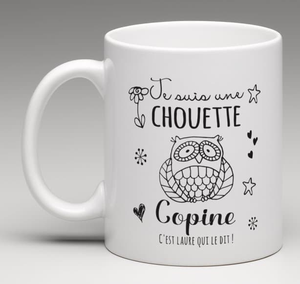 Mug Chouette Copine