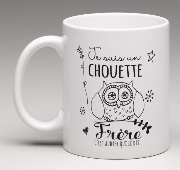 Mug Chouette Frère