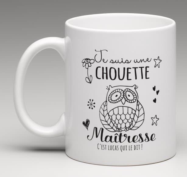 Mug Chouette Maîtresse