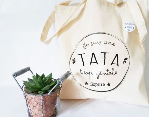 Sac et Badge Tata géniale