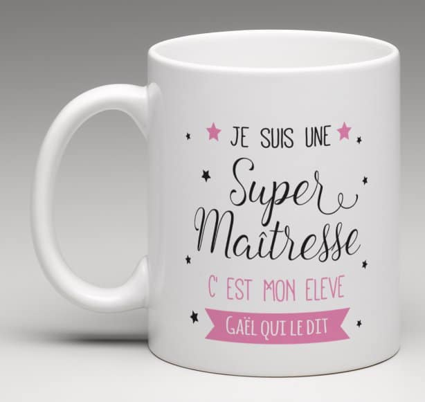 Mug Super Super Maîtresse