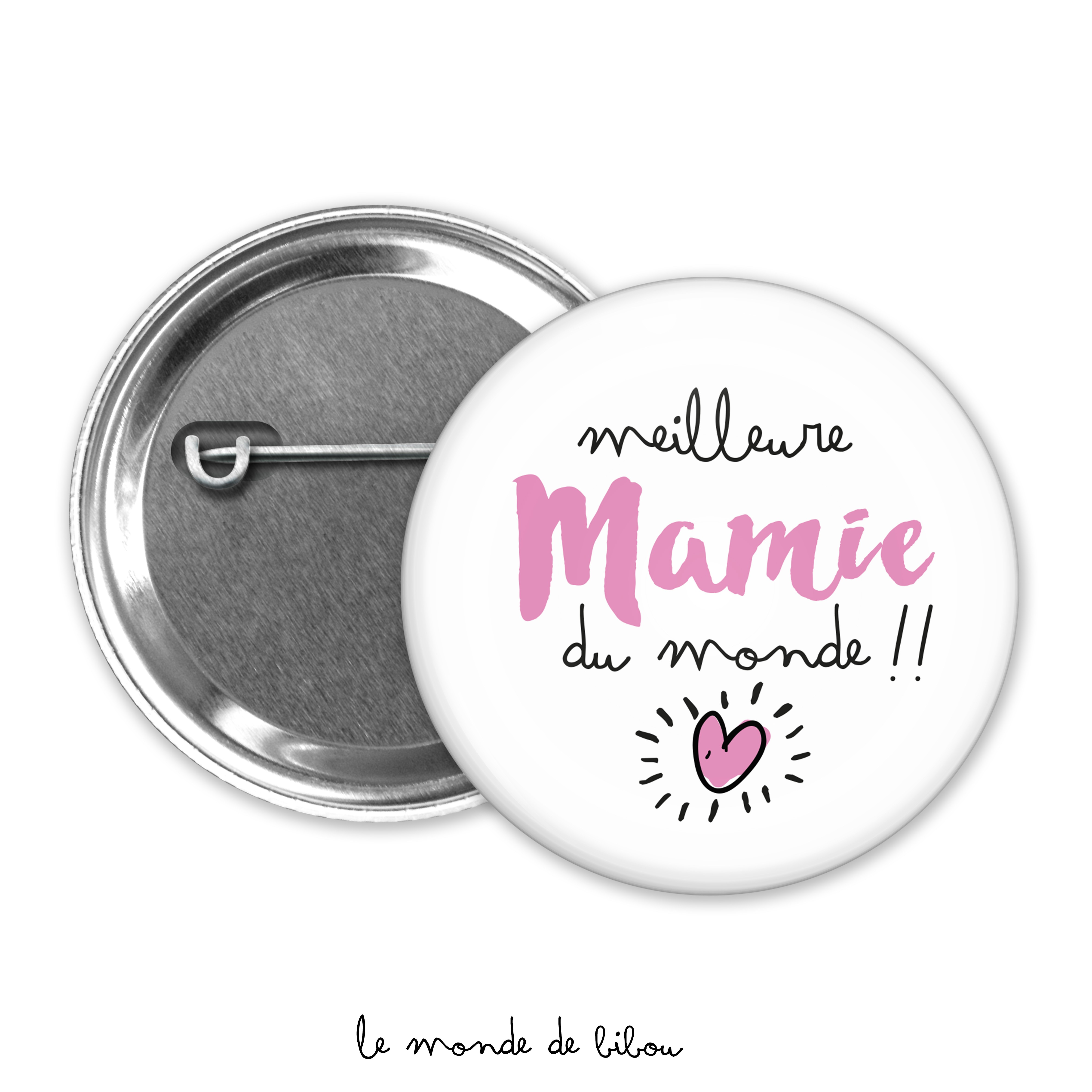 Badge Meilleure mamie