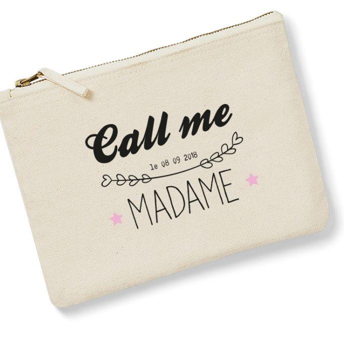 Pochette Call me Madame