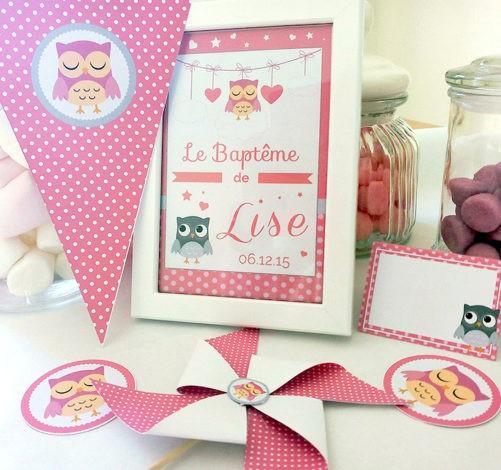 kit sweet table sûr-mesure