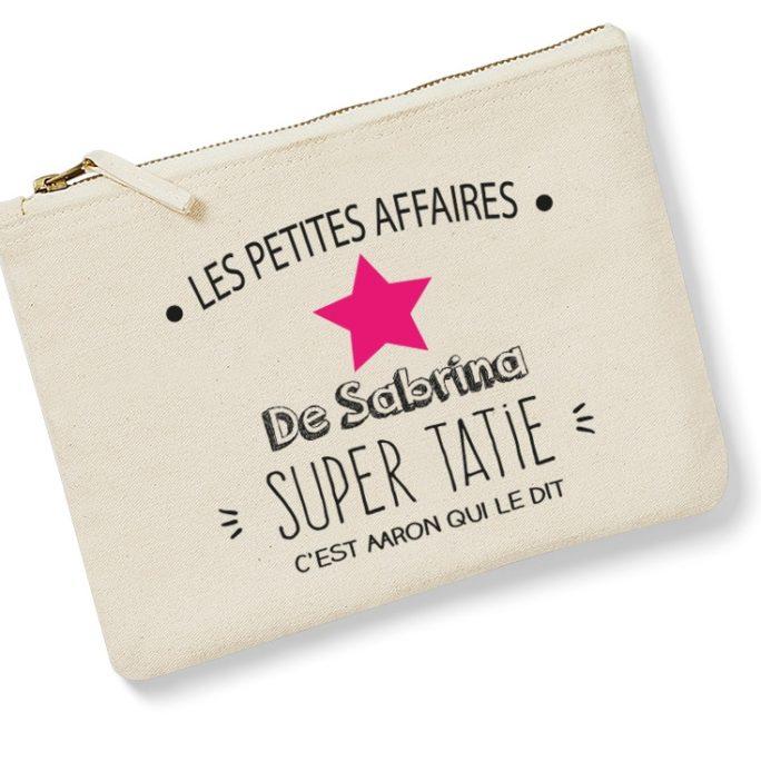 Pochette Les petites affaires d'une Super Tatie