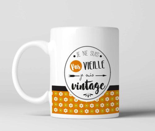 Mug Je suis vintage