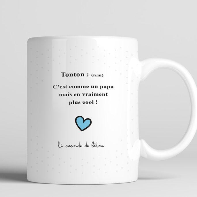 Tasse personnalisable cadeaux tonton