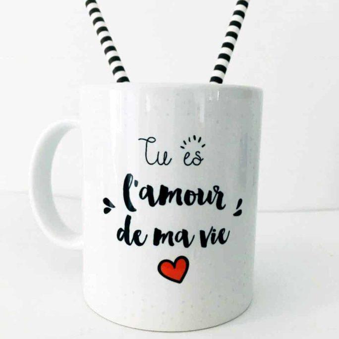 Mug Amour de ma vie