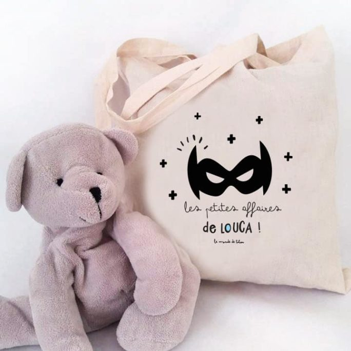 Tote bag enfant Super héros