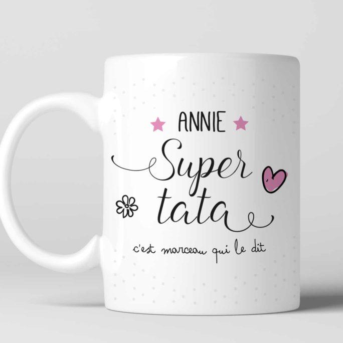 Mug personnalisé pour une Super tata