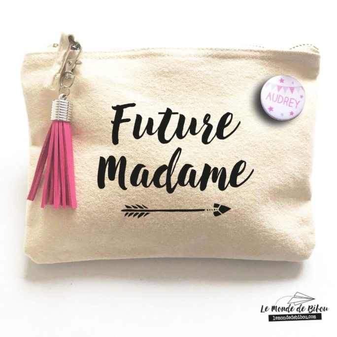 Pochette Badge Future madame