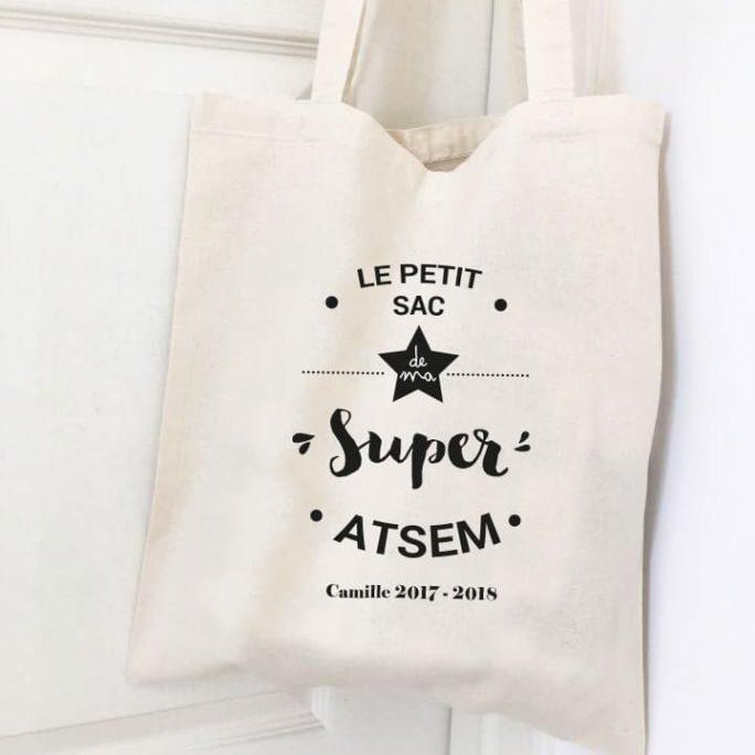 Sac personnalisé Super ATSEM