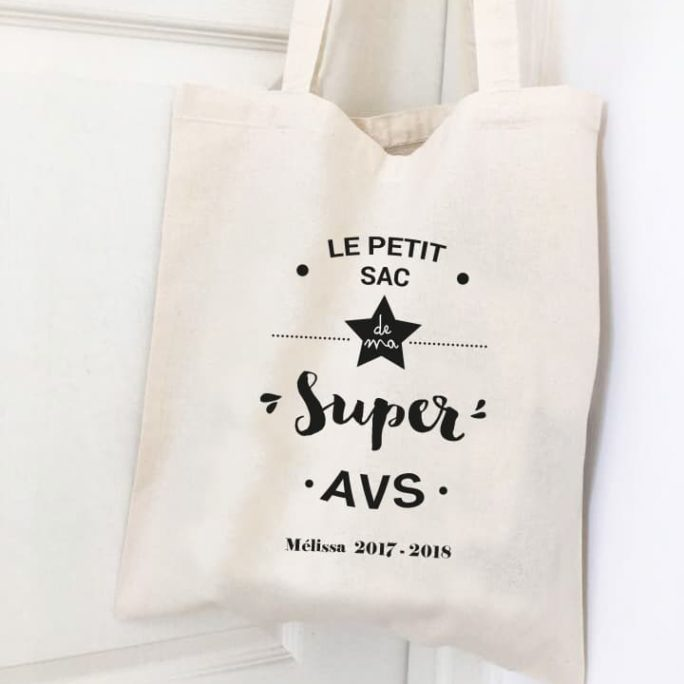 Sac personnalisé Super AVS