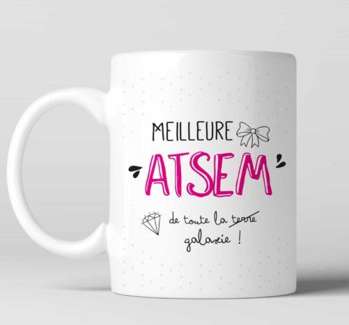 Mug Meilleure Atsem personnalisable