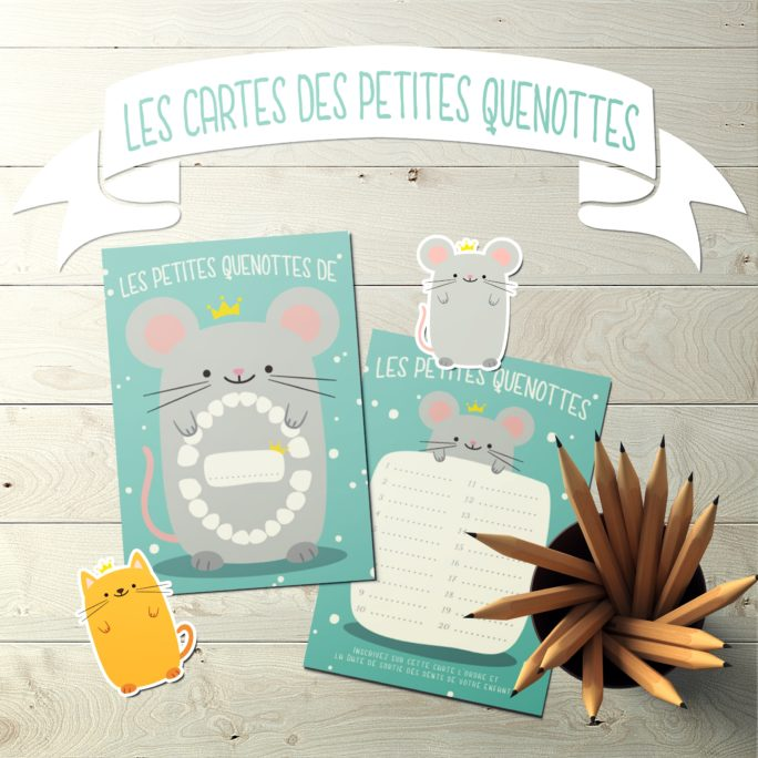 Carte Dents de lait