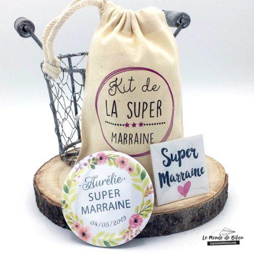 Kit cadeau pour une Super Marraine