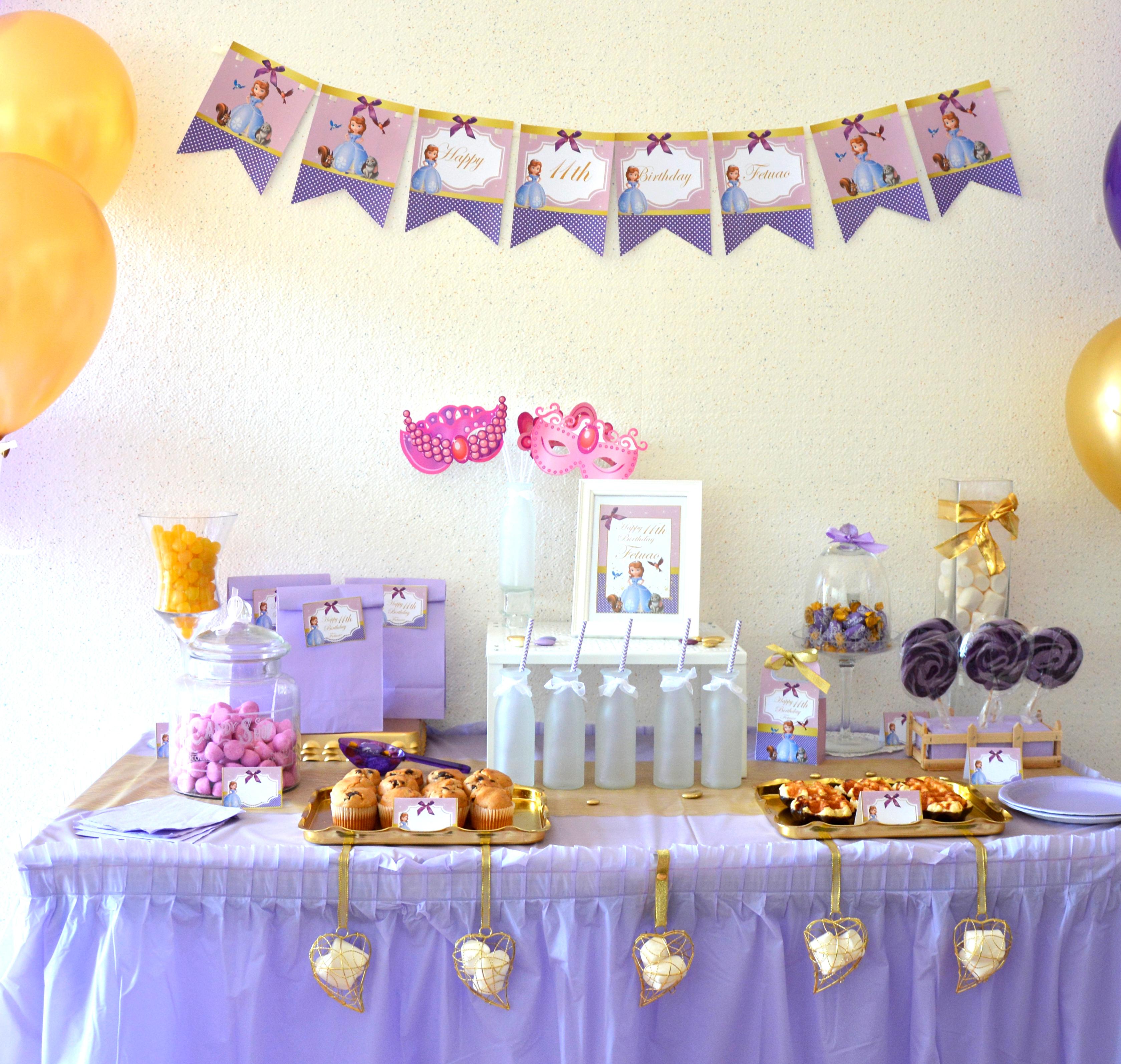 Kit Anniversaire Sweet Table Sur Mesure Le Monde De Bibou