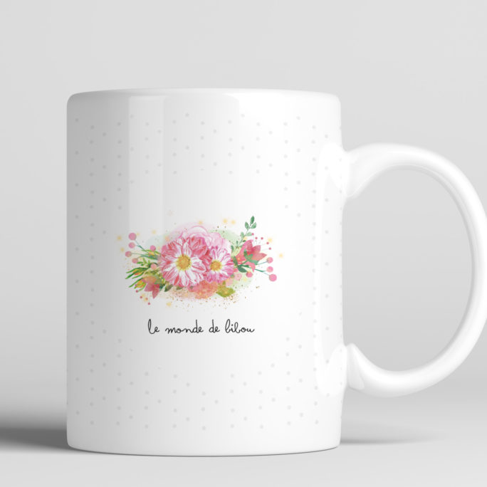 mug licorne personnalisable