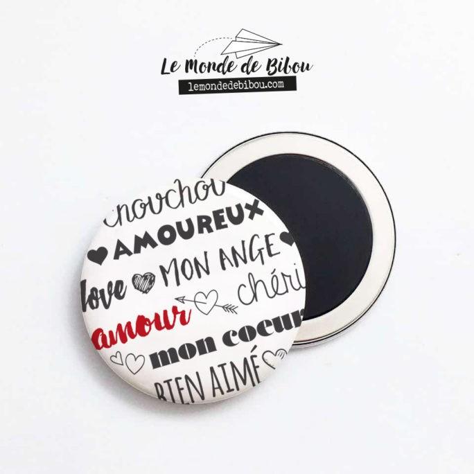 Magnet Les Mots Chéri