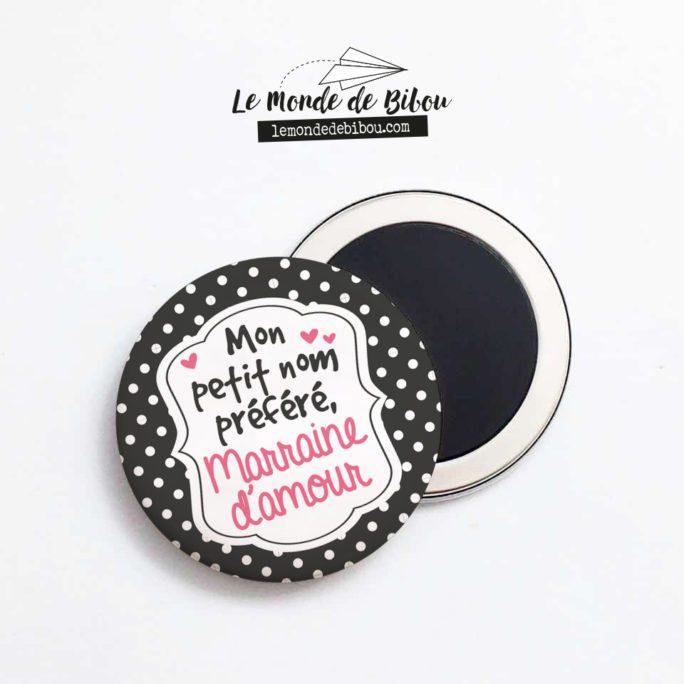 Magnet Marraine d'Amour