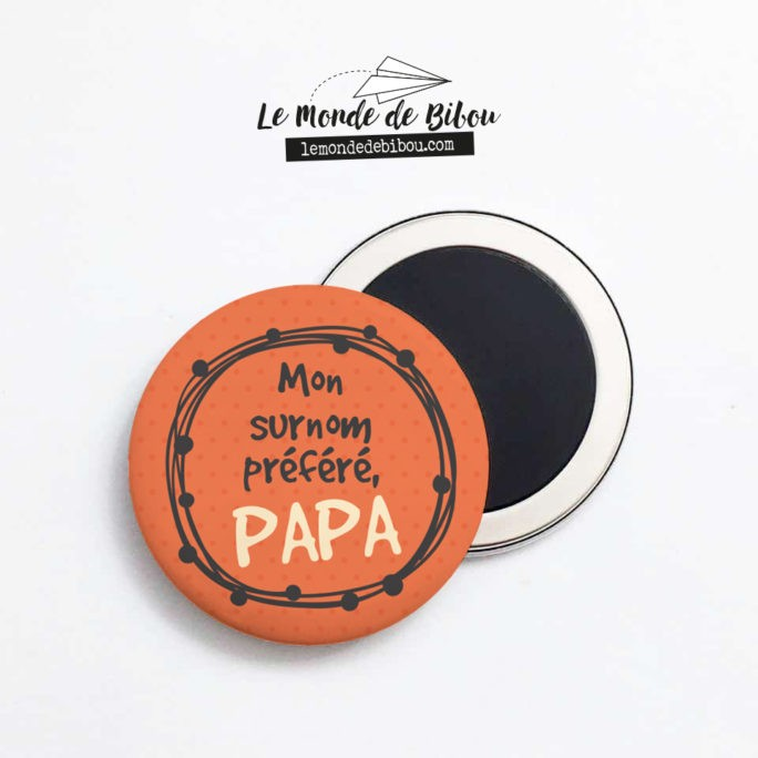 Magnet Papa préféré