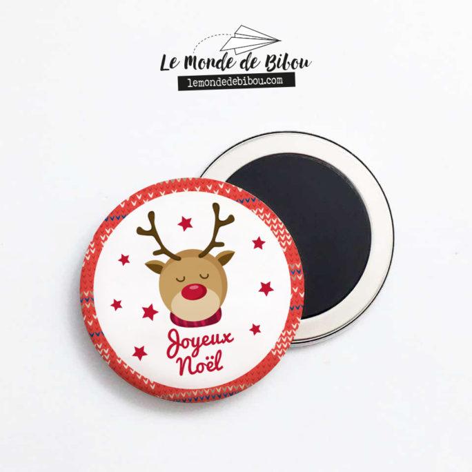 Magnet Renne de Noël - Joyeux Noël
