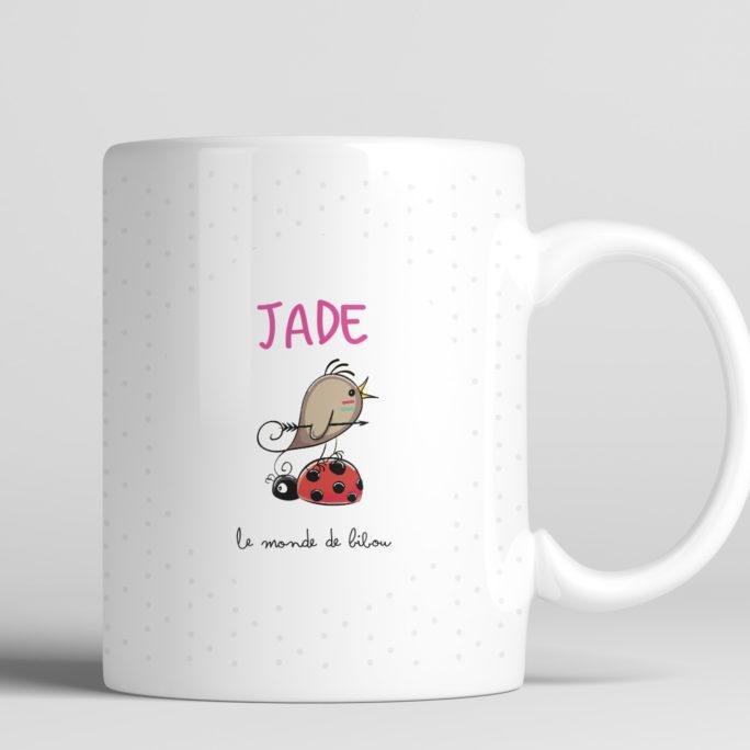 mug chouette filleule personnalisé
