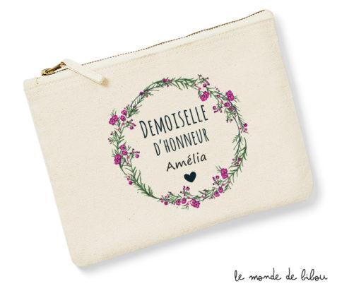 Pochette Demoiselle d'honneur