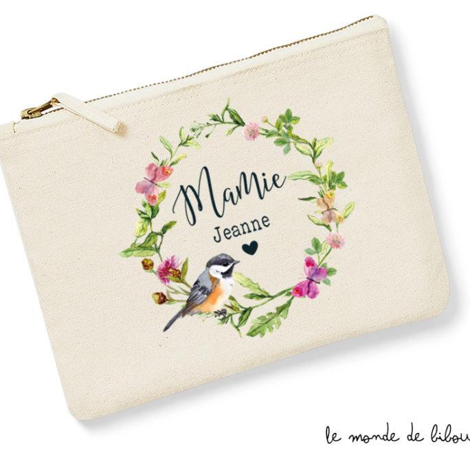 Trousse Mamie Couronne de fleurs