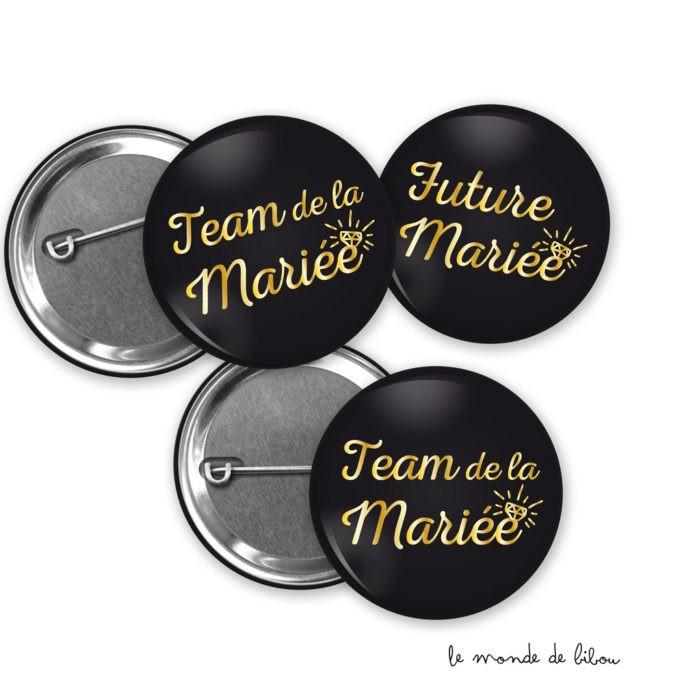 Badges Bijou 3 couleurs