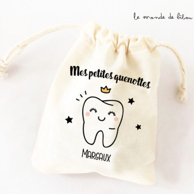 Sac Dents de lait Fille