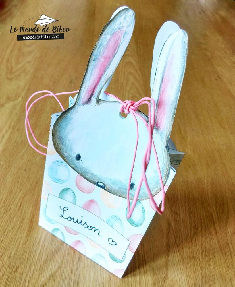sac cadeau de Pâques