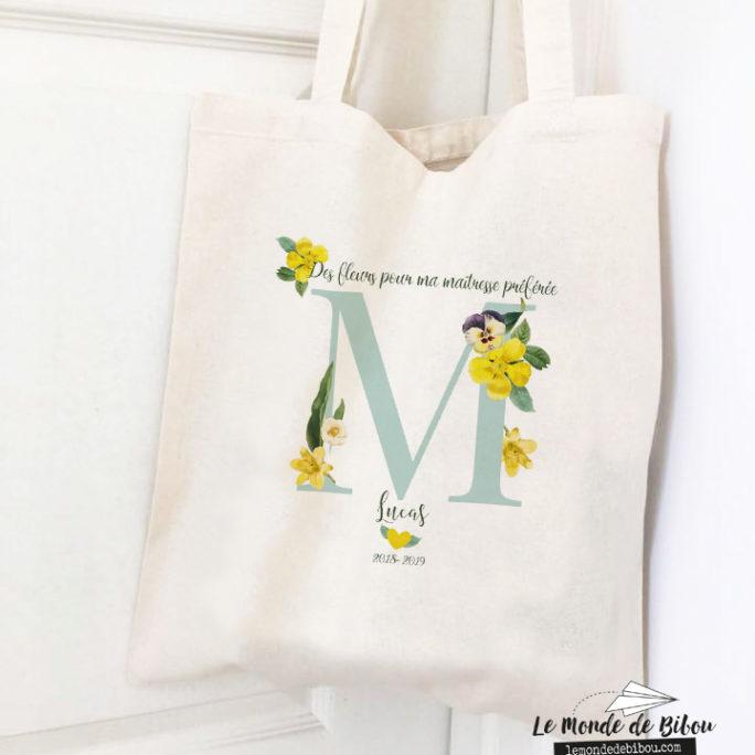 Tote bag Des fleurs pour ma Maîtresse