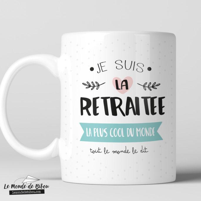 Mug pour une retraitée cool