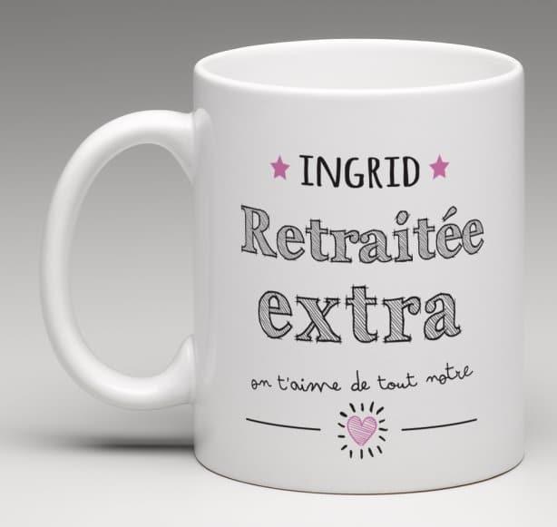 Mug pour une retraitée extra