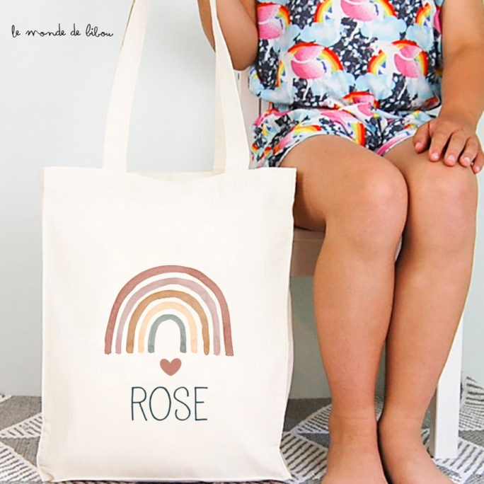 Tote bag enfant Rainbow