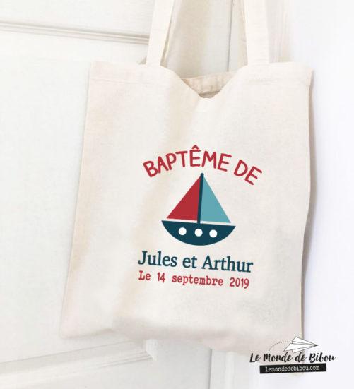 Tote Bag assorti à vos ballotins