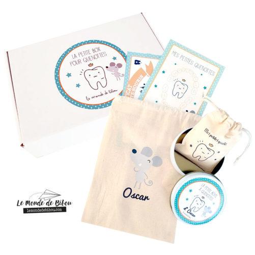 Coffret box cadeau personnalisée pour dents de lait