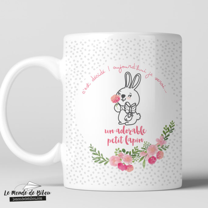 Tasse incassable Petit lapin