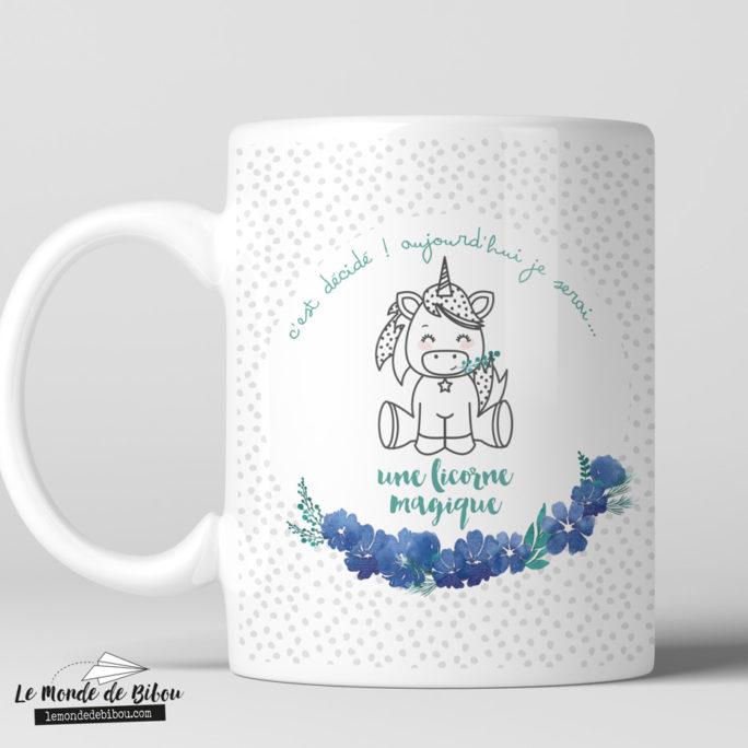 Tasse incassable Petite licorne