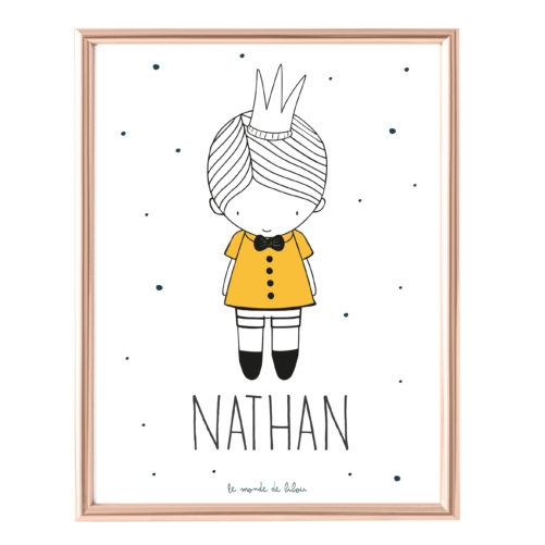 Affiche Prénom Petit Prince