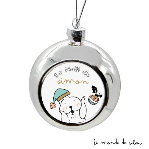 Boules de Noël En Famille Marmotte