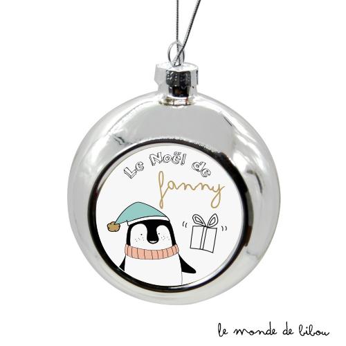Boules de Noël En Famille Pingouin
