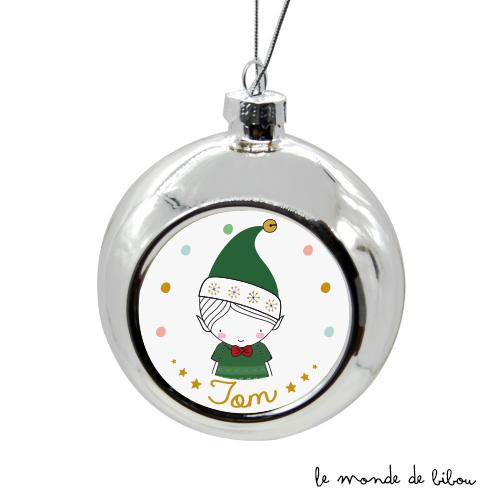 Boule de Noël Garçon Lutin