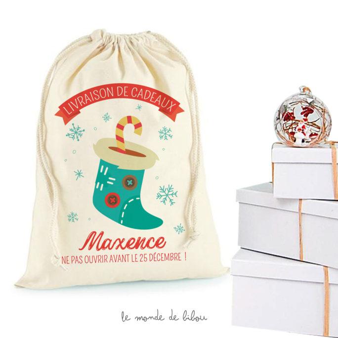Hotte Chaussette de Noël Taille M